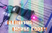 Clignotant le Code Morse