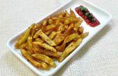 Frites de pommes de terre épicées