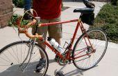 Repainting un vieux vélo