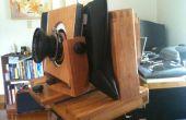 Construire une caméra 120 film avec des mouvements et de la molette.