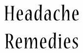 Comment vous débarrasser d'un mal de tête