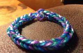 Arc-en-ciel à tisser Fishtail Bracelet