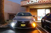 Comment faire pour convertir les Toyota Camry clignotants à LED DRL