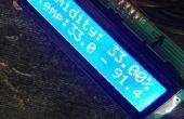 Menu pour LCD avec Senso