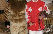 Nos Costumes d'Halloween Party - cheval de course & Jockey