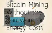 Mes Bitcoins sans matériel ni coûts énergétiques !