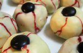 6 friandises terrifiants pour votre fête d'Halloween.