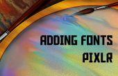 Télécharger et installer des polices sur Pixlr gratuitement !
