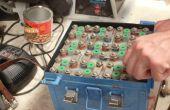 Remplaçant les Batteries NiCad avion avec des nouvelles piles sèches !