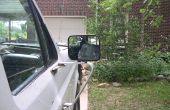 Ford F150 - F250 manuel chrome rétroviseur, suppression d'un bon miroir d'un émerillon cassé
