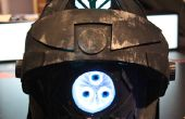 LED Light Up Robot casque