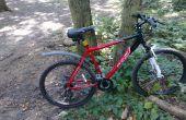 DIY : Crevaison de pneu vélo protection blindée. Poids ultra léger.