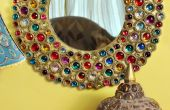 Miroir de Bejeweled Boho carton
