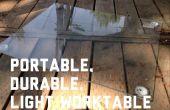 Portable, Durable, table de travail de lumière