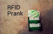 RFID gomme Prank