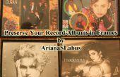 Affichez vos Albums Record dans les cadres