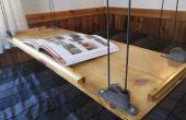Paracord et poulie suspendue Table