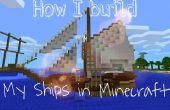 Comment je construis mes vaisseaux dans Minecraft