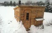 Wood Burning Sauna bricolage