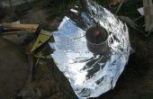 Fabrication et d'utilisation d'un « composé » cuiseur solaire parabolique (grand projet)