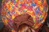 LionBrand paysages dans le chapeau de la queue de cheval