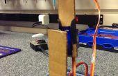 Bras robotique simple de pièces en carton