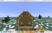 Maison simple de Minecraft