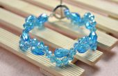 Simple perles Bracelet Patterns - comment faire un cristal perles Bracelet avec un fermoir Toggle