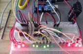 Horloge binaire Arduino (heures, minutes et secondes)