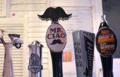 3D imprimés moustache Beer Tap Handle