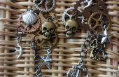 Boucles d'oreilles steampunk Pirate