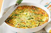 Recette de Frittata végétarien adaptable aux légumes quelle que soit sont de saison