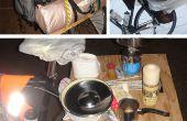 La table de vélo (aka Rackatabla) – ou comment faire du vélo tour avec votre sac à dos de randonnée