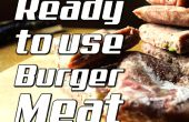 Comment faire un prêt à l'emploi de viande de hamburger