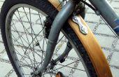 Les bois garde-boue vélo