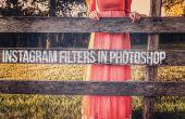 Comment faire Instagram filtres dans Photoshop