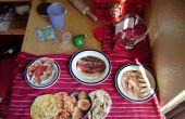 « Nourriture de jouer » cartes pour le jeu de cuisine imaginative
