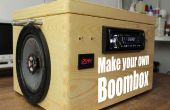 Faire votre propre Boombox