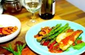 Pan Fried Sea Bass avec activités légumes | Cuisiner avec Benji
