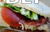 Déjeuner à emporter homme d'affaires (BLT)