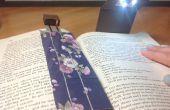 Signet électronique pliable / lampe de lecture