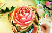 Pastèque Rose fleur (Art comestible)