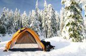 Comment faire pour garder au chaud sur un campout hiver