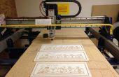 Panneaux en bois personnalisés réalisés avec Shopbot CNC Router