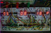 Conception de la logique séquentielle pour une horloge numérique d'apprentissage