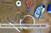 Comment faire passer les câbles par câbles USB