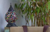 Faire revivre une vieille lampe de jardin avec un panneau solaire
