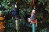 Ornements DIY pour votre arbre de Noël !