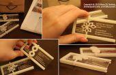 3D imprimés cartes de visite