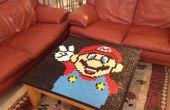 Super Mario mosaïque Table /Table couvercle
